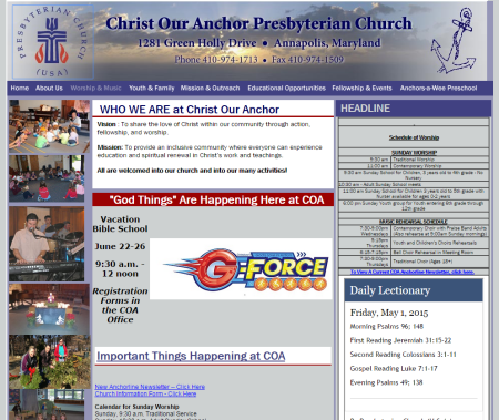 Christ Our Anchor Presbyterian Church