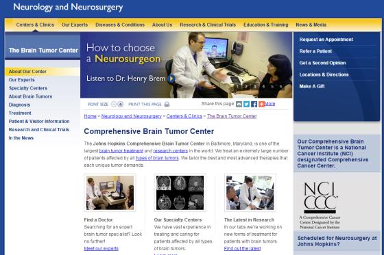 Johns Hopkins Brain Tumor Program